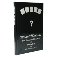 Mental Mysteries: The Theory and Practice of Mentalism by E. R. Hutchison - Goochelboek